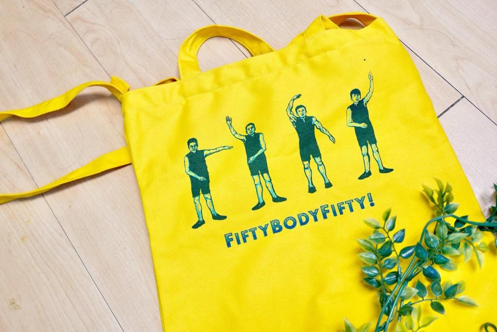 五五身春意盎然小人帆布包「FIVE! 民謠小人帆布包」少量於 3/3 現場販售。