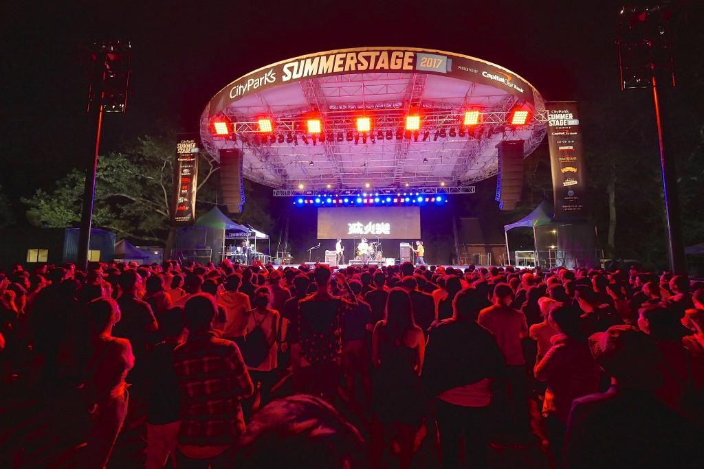 滅火器初登板!紐約中央公園 SummerStage!