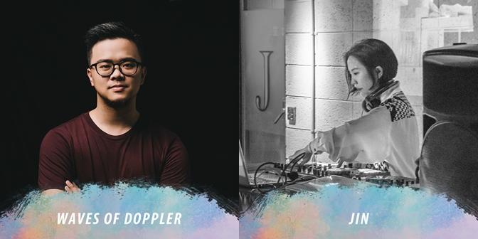 4月15日:Waves of Doppler、JIN何靜