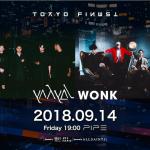 崛起於東京音樂現場兩大潮團 yahyel與WONK將來台演出