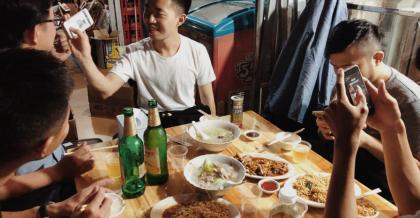 廈門最後一餐,和當年微風的小夥伴吃冬粉鴨和炒泡麵