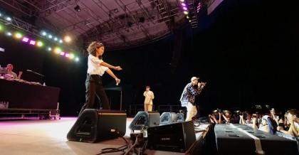 Taiwanese Wave為蛋堡新單曲〈台北嘻哈故事〉全球首演 邀請9m88(左二)一同登台熱力開唱