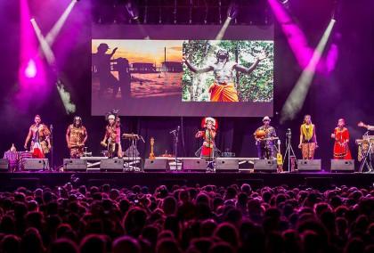 必) 小島大歌於西班牙Etnosur音樂節主舞台演出