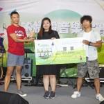 第六屆新光三越不插電決賽 陳侑彤、郭子恆、令伍以一分之差榮獲前三名