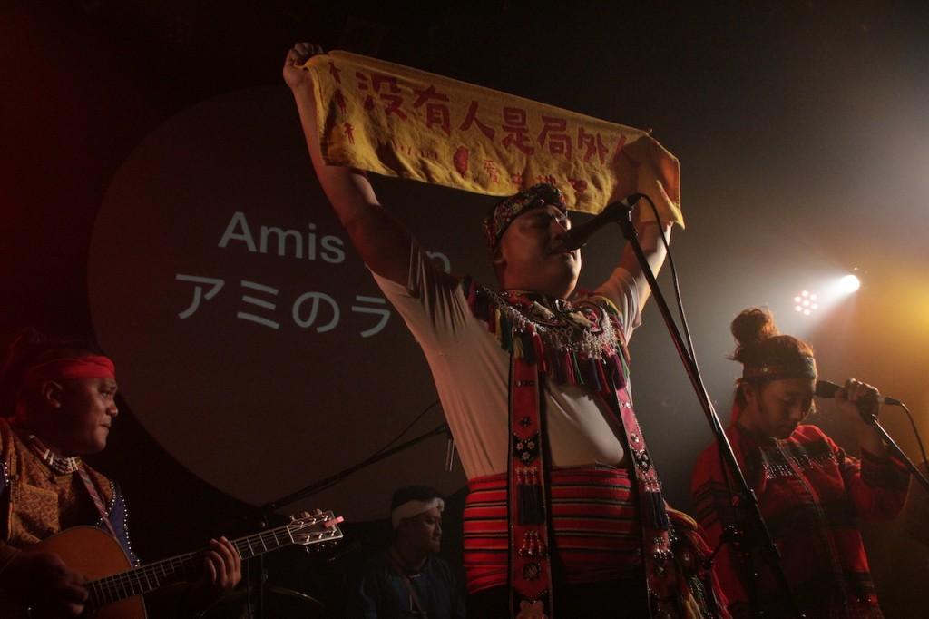 嵐馨樂團(攝影:高桑常寿)