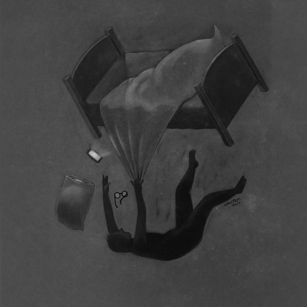 老王樂隊 〈那些失眠的夜與難以忘懷的事〉_專輯封面