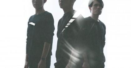 記號士樂團 左起:主唱陳麒宇 貝斯手林彥均 吉他手馬世灝