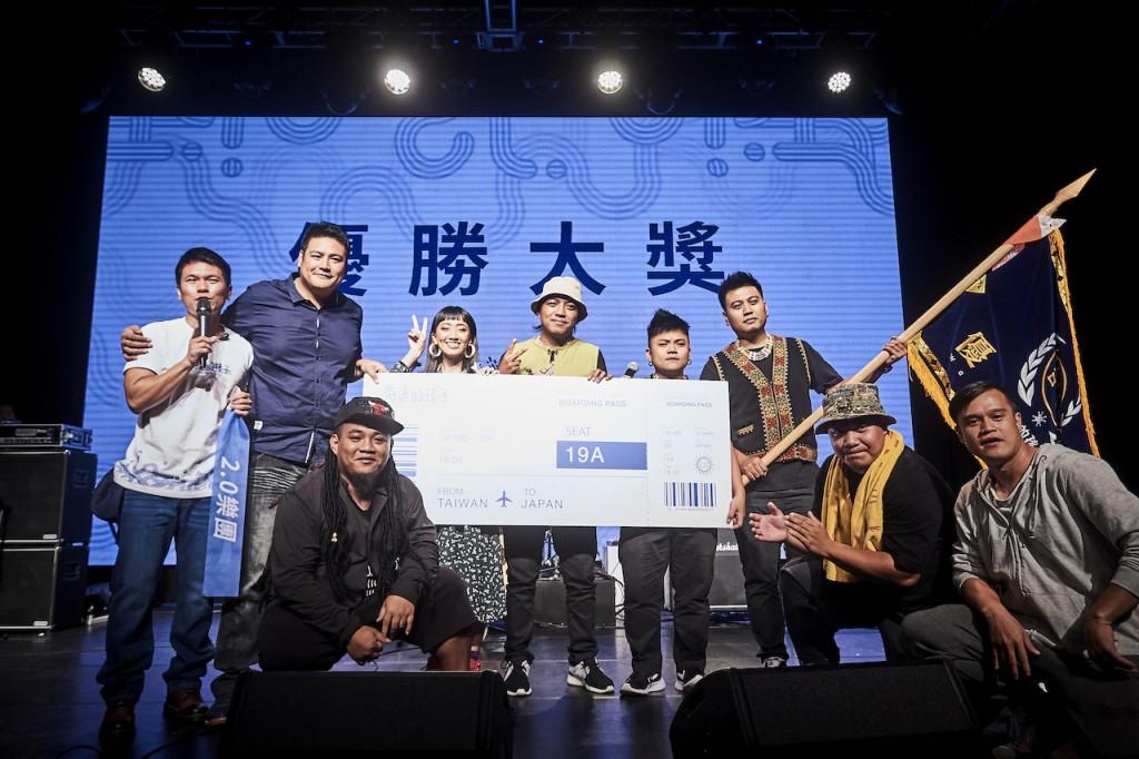 獲得優勝大獎的 2.0 樂團