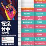魏如萱、宇宙人壓軸開唱 搖滾台中公布線上音樂節直播節目表
