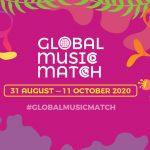 貴人散步音樂節參與線上音樂交流計畫:Global Music Match