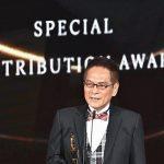 「台灣鼓王」黃瑞豐獲得金曲獎特別貢獻獎